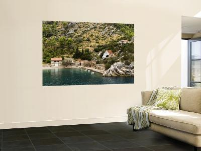 House by Water on North-Eastern Coast of Hvar Near Jelsa-Will Salter-Wall Mural