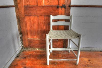 House Corner Chair-Robert Goldwitz-Photographic Print
