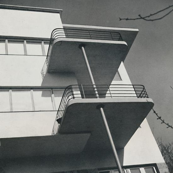 House for two families in Budapest, Romania, 1933-Unknown-Photographic Print