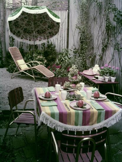 House & Garden - April 1955-Tom Leonard-Premium Photographic Print