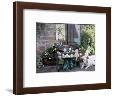 House & Garden - August 1975-Ernst Beadle-Framed Premium Photographic Print
