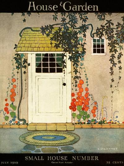 House & Garden Cover - July 1919-H. George Brandt-Premium Giclee Print