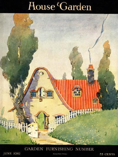 House & Garden Cover - June 1919-Maurice Day-Premium Giclee Print