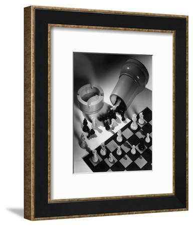 House & Garden - December 1934-Maurice Seymour-Framed Premium Photographic Print