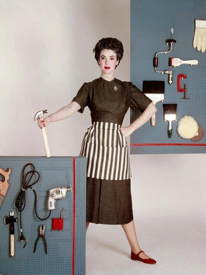 House & Garden - January 1952-Constantin Joff?-Premium Photographic Print