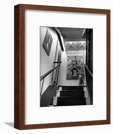 House & Garden - June 1946-André Kertész-Framed Premium Photographic Print