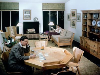 House & Garden - June 1948-Andr? Kert?sz-Premium Photographic Print