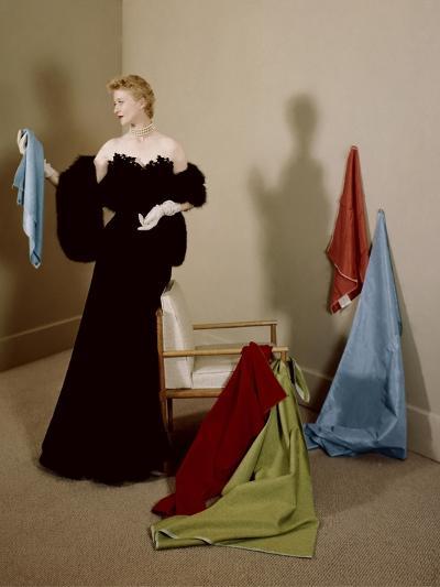 House & Garden - September 1950-Herbert Matter-Premium Photographic Print