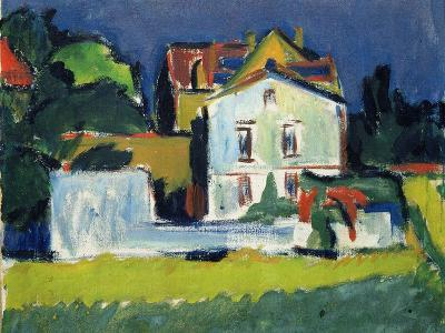 House in a Landscape-Ernst Ludwig Kirchner-Giclee Print