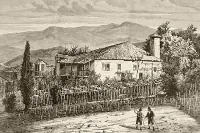 House in Casdemiro, Galicia, Spain--Giclee Print