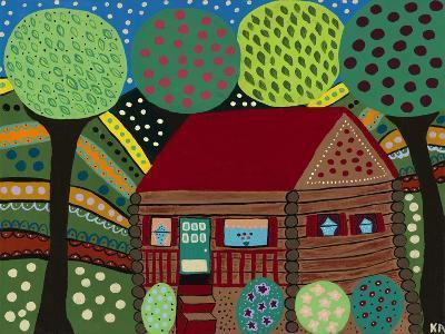 House in the Hills-Kerri Ambrosino-Giclee Print