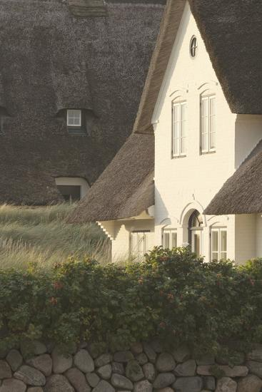 House 'Kliffende' Close Kampen (Municipality), Sylt (Island), Schleswig-Holstein, Germany-Rainer Mirau-Photographic Print