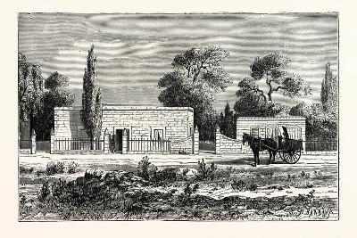 House of a Rich Boer, or Dutch Farmer, South Africa--Giclee Print