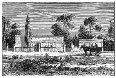 House of a Rich Boer, South Africa, C1890--Giclee Print