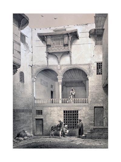 House of Beyt El-Tcheleby, 19th Century-Emile Prisse d'Avennes-Giclee Print