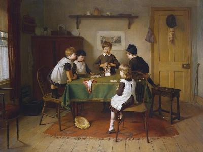 House of Cards, 1889-Harry Brooker-Giclee Print
