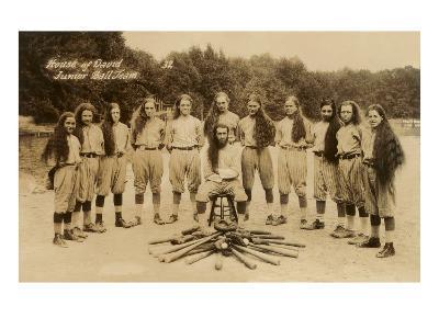House of David Junior Baseball Team--Art Print