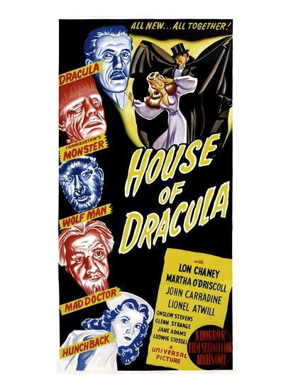 House of Dracula, 1945--Photo