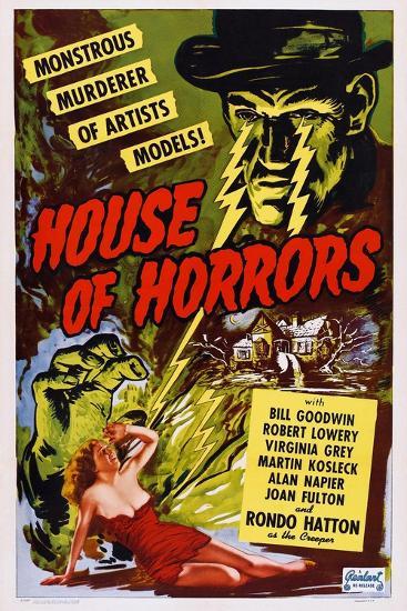 House of Horrors, 1946--Art Print