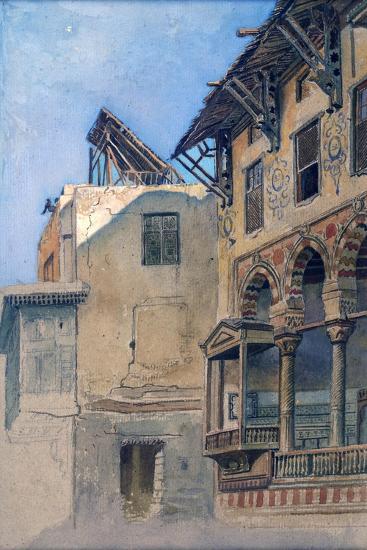 House of Memlook Radnau Bey, Cairo, 1870-Frank Dillon-Giclee Print