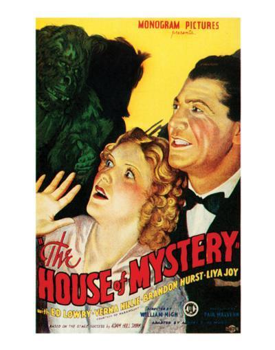 House Of Mystery - 1934 I--Giclee Print