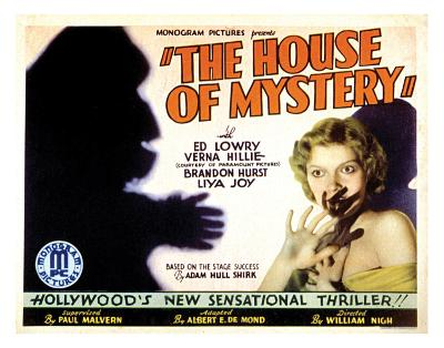 House Of Mystery - 1934 II--Giclee Print