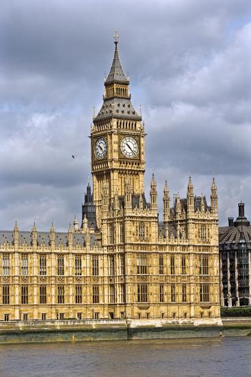 House of Parliament and Big Ben-Massimo Borchi-Photographic Print