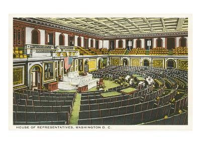 House of Representatives, Washington D.C.--Art Print