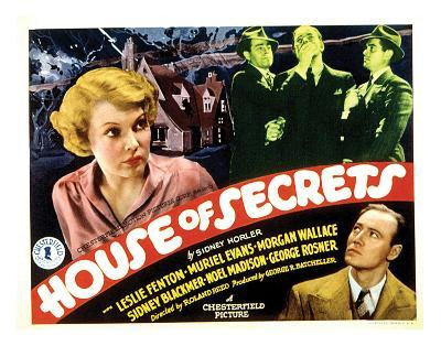 House Of Secrets - 1936 I--Giclee Print
