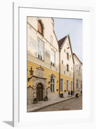 House of the Brotherhood of Black Heads, Old Town, UNESCO World Heritage Site, Tallinn, Estonia, Eu-Ben Pipe-Framed Photographic Print