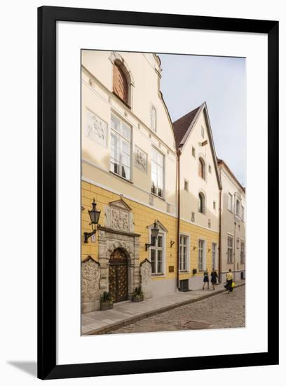 House of the Brotherhood of Black Heads, Old Town, UNESCO World Heritage Site, Tallinn, Estonia, Eu-Ben Pipe-Framed Photographic Print