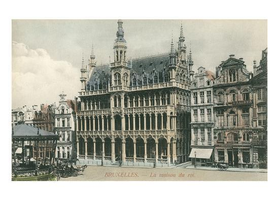 House of the King, Brussels, Belgium--Art Print