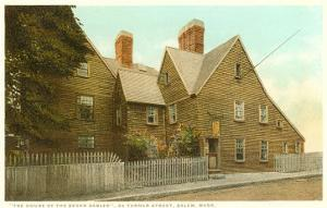 House of the Seven Gables, Salem, Mass.