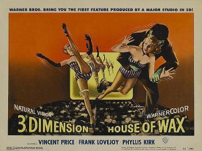 House of Wax, 1953--Art Print