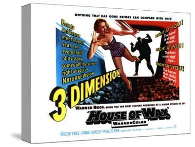 House of Wax, UK Movie Poster, 1953