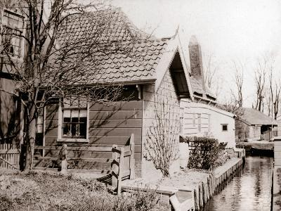 House on a Canal Bank, Broek, Netherlands, 1898-James Batkin-Photographic Print