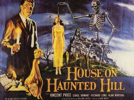 House On Haunted Hill, 1958--Art Print