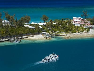 House on Paradise Island, Nassau, New Providence Island, Bahamas, West Indies, Central America-Richard Cummins-Photographic Print