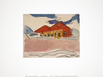 House on the Beach-Max Pechstein-Collectable Print