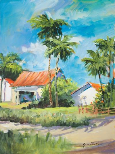 House on the Beach-Jane Slivka-Premium Giclee Print