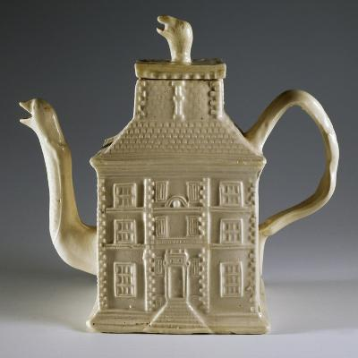 House-Shaped Teapot, 1750--Giclee Print