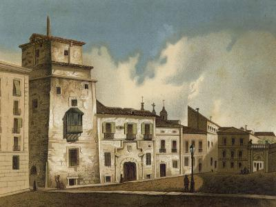 House Where Francis I of France Was Imprisoned, Madrid, 1525-1526--Giclee Print