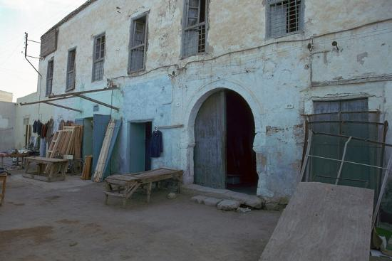 House where Paul Klee lived in Kairouan, Tunisia, 20th century. Artist: Unknown-Unknown-Photographic Print