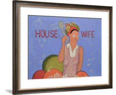 House Wife-Jennie Cooley-Framed Giclee Print