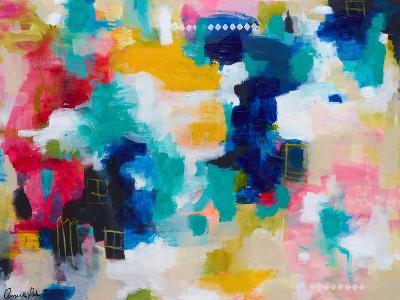 House with a Picket Fence-Amira Rahim-Art Print