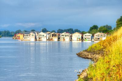 Houseboats-Anton Foltin-Photographic Print