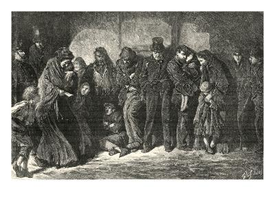Houseless and Hungry by Luke Fildes-Peter Higginbotham-Giclee Print