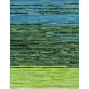 Houseman Area Rug - Emerald/Teal 5' x 8'