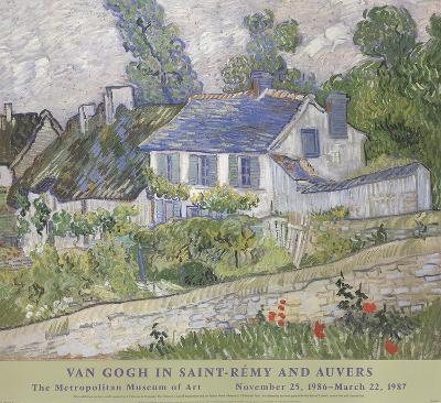 Houses At Auvers-Vincent van Gogh-Collectable Print