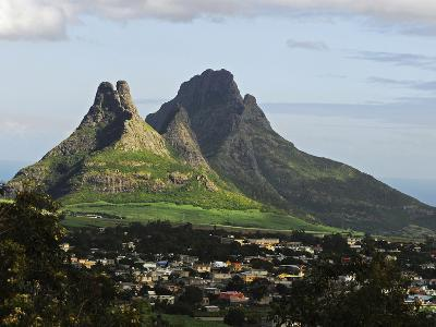 Houses, Floreal, Mauritius-Anthony Asael-Photographic Print